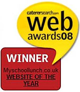 catersearch.com web awards 08 Winner myschoollunch.co.uk website of the year